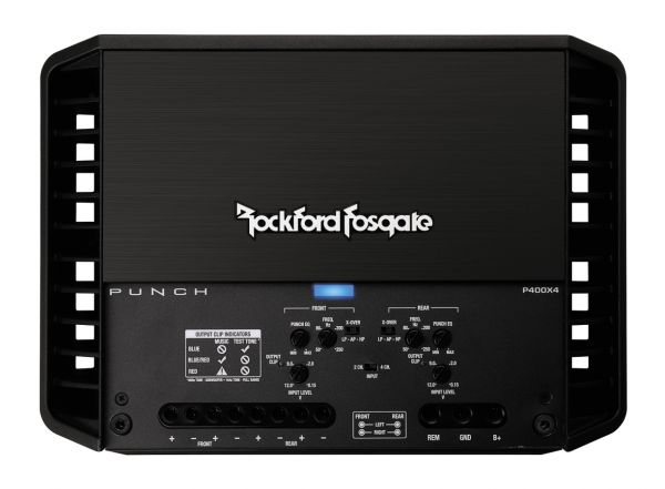 Rockford PUNCH P400X4 Amplifier