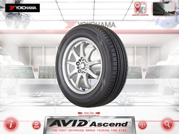 Yokohama Tire Corporation Introduces v2.0 of its Free, Award-Winning Consumer iPad App