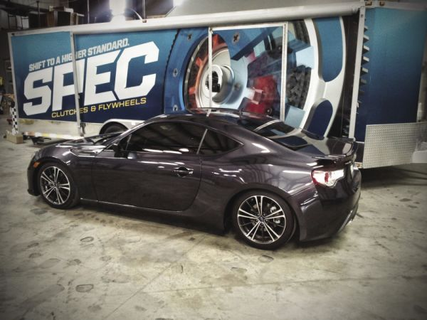Spec Clutch: Prototyping the BRZ