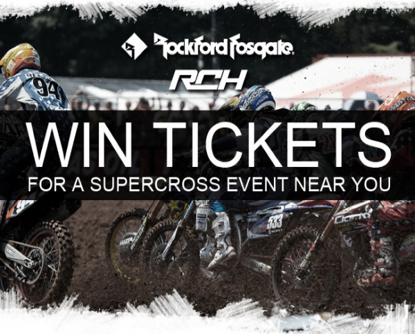 RCH/Rockford Fosgate Ticket Giveaway