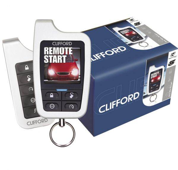 Project Scion iQ: Clifford Alarm Install