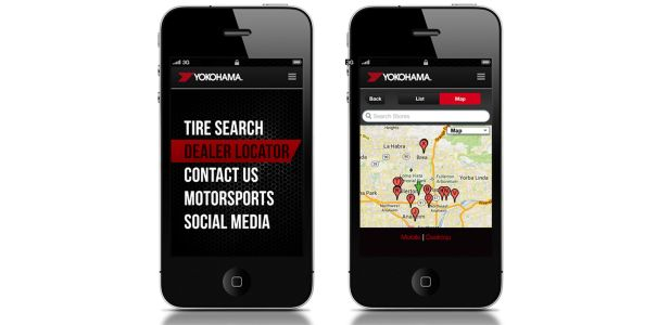 Yokohama Tire Corporation Launches New Mobile Website