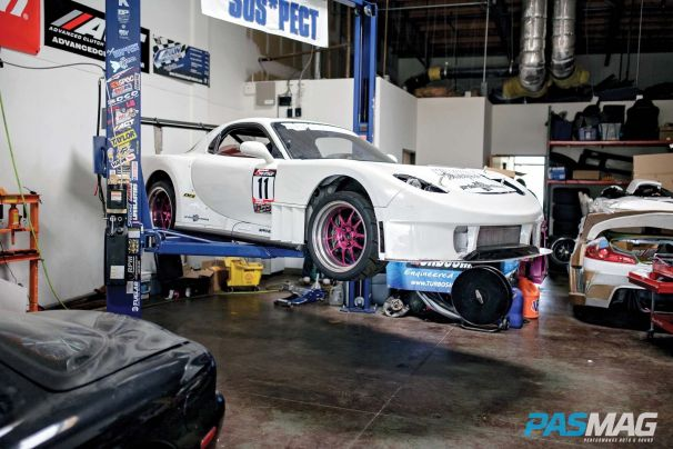 The Science of Stopping: Wilwood stops 1,000 hp FD RX-7