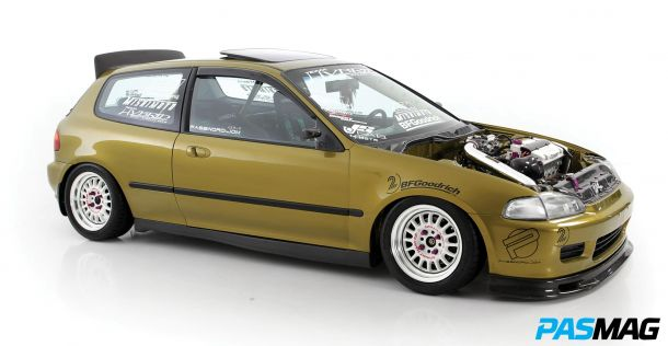 The Golden Rule: Brian Camacho's 1992 Honda Civic Si