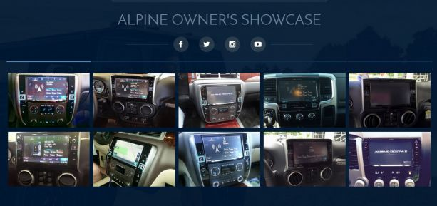 Alpine Electronics of America Restyles Its Website Owners Showcase PASMAG