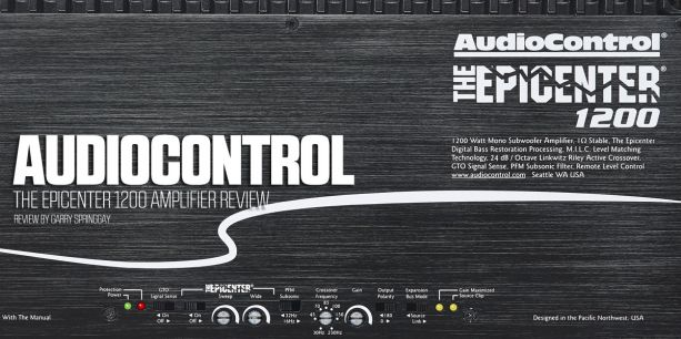 AudioControl Epicenter 1200 PASMAG Amplifier Review Test Report Lead