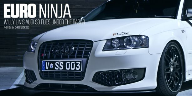 Euro Ninja 2008 Audi S3 Willy Lin Phatt Audio PASMAG Chris Nicholls Lead