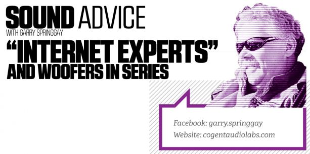 PASMAG Sound Advice Internet Experts and Woofers in Series Lead