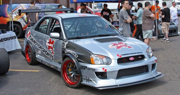 Attacking Time: Andrei Tsaran's 2004 Subaru STI