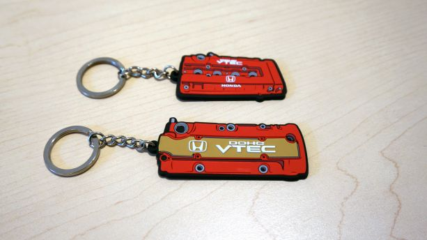 Eeffect Engine Series Valve Cover Keychains