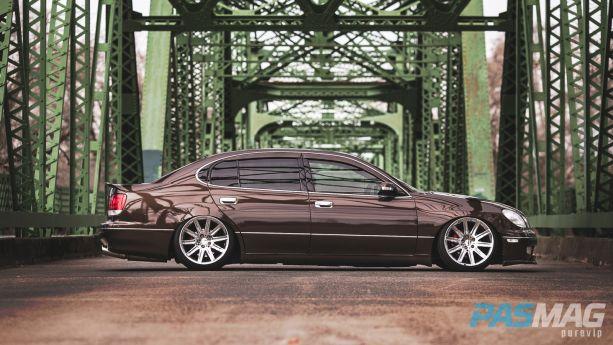 PASMAG Tuner Battlegrounds SPOCOM Jeff Isidro 1999 Lexus GS300 PureVIP side
