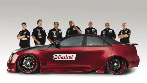 Serge Leger's Team ETC 2009 Cadillac CTS