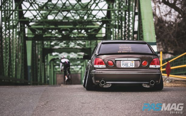 PASMAG Tuner Battlegrounds SPOCOM Jeff Isidro 1999 Lexus GS300 PureVIP rear