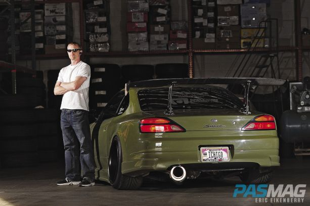 PASMAG Billy Vaughn 1999 Nissan Silvia S15 SR20DET Fast and Furious APEXI Origin GT Wing