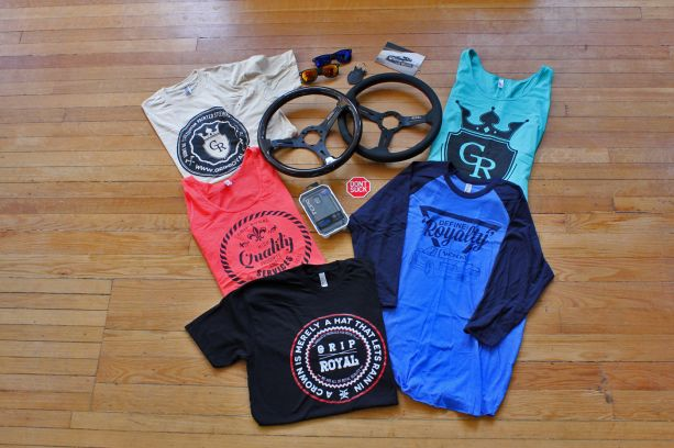 PASMAG Lifestyle Grip Royal Shirts Steering Wheel Sticker Sunglasses Phone Case Keychain 2