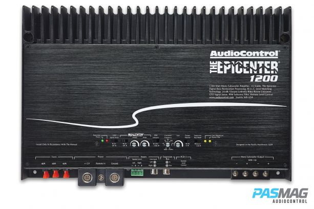 AudioControl Epicenter 1200 PASMAG Amplifier Review 7