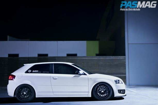 Euro Ninja 2008 Audi S3 Willy Lin Phatt Audio PASMAG Chris Nicholls 8