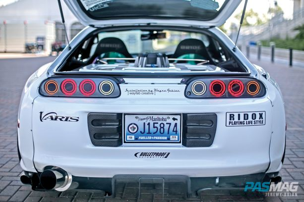 Anthony De Guzman 1993 Toyota Supra 2014 Tuner Battlegrounds Champion 8