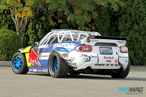 Mad Mike Radbul 2015 Mazda MX5 PASMAG 12