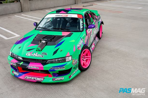 Alec Hohnadell 1995 Nissan 240sx S14 PASMAG canter 6