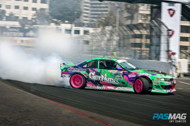 Alec Hohnadell 1995 Nissan 240sx S14 PASMAG canter 8