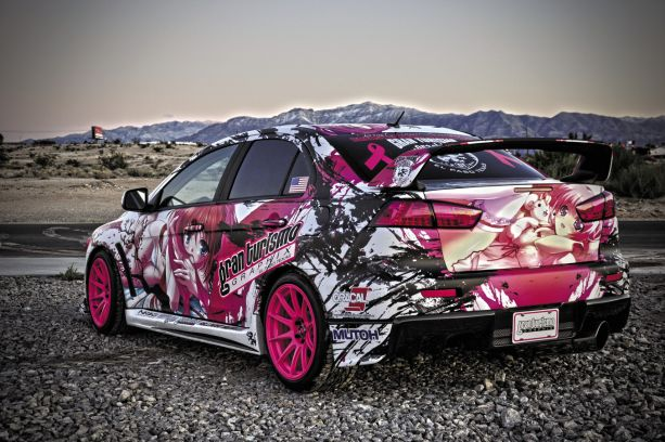 Pretty in Pink: 2008 Mitsubishi Lancer EVO