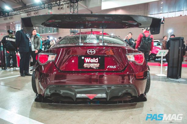 Metal widebody Nishino Body Repair x Weld FR-s.