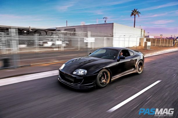 All Black Everything: Tyler Pflanz's Toyota Supra
