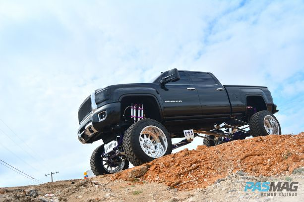 Iram Ochoa Altered Altitude 2015 GMC Sierra 2500 Denali PASMAG 3