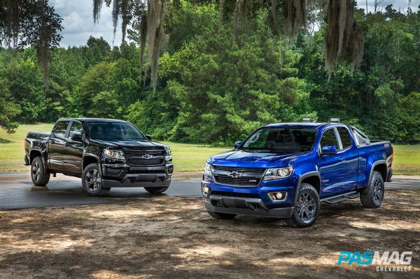 2016 Chevrolet Colorado MidnightEdition TrailBoss 064 trucks pasmag