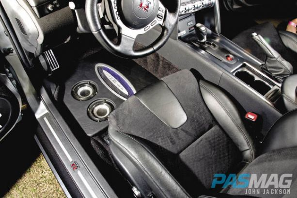 PASMAG Sherill Roberts Nissan GTR R35 Focal Audio interior