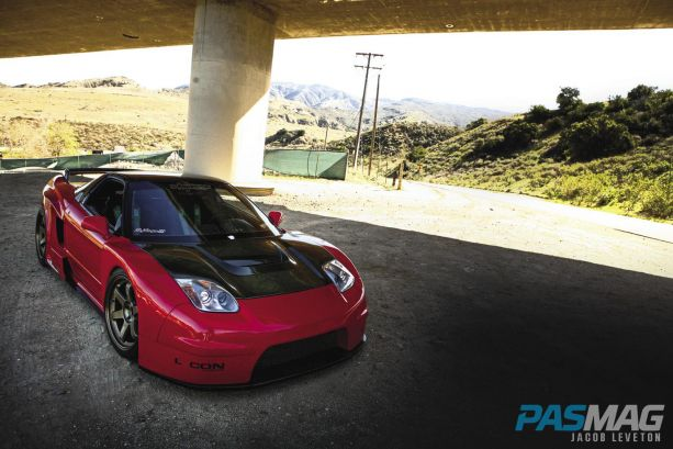 Pursuit-of-Perfection-Tony-Khamlys-1991-Acura-NSX Sorcery wide body kit