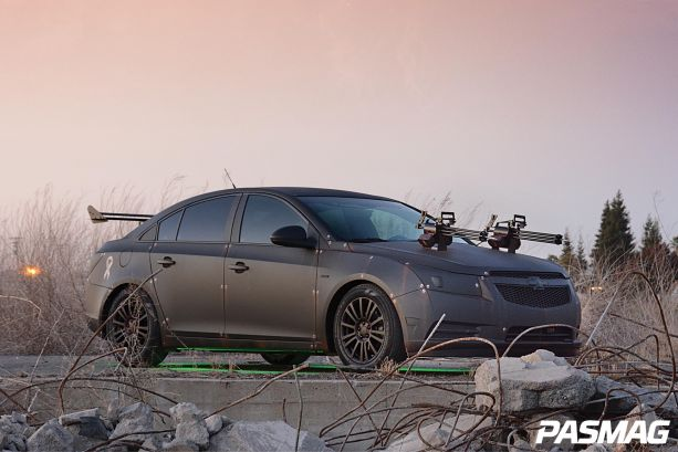 Rambo vs. Zombies: Brian Mitchell's Arc Audio 2012 Chevrolet Cruze