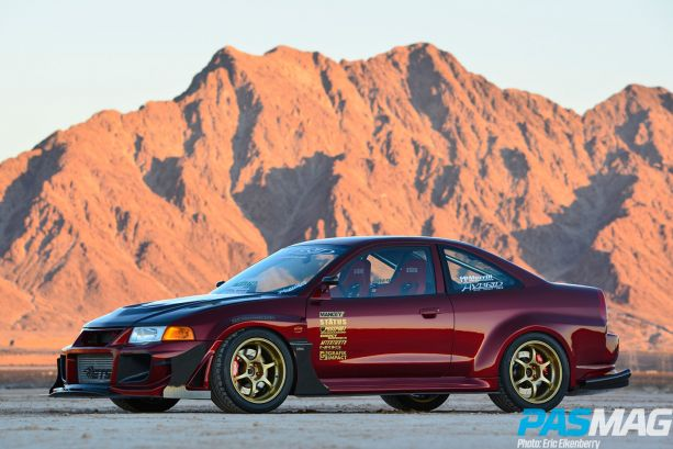 Evolution of a Mirage: Archie Concon's 2000 Mitsubishi Mirage (Photo by Eric Eikenberry)