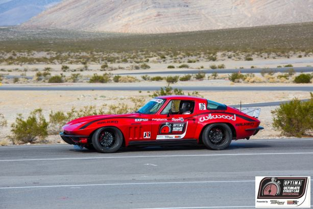 2013 OPTIMA Invitational Winning Vehicle Brian Hobaugh 1965 Corvette