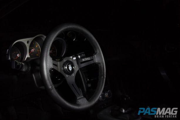 PASMAG Find Your Grip Royal Steering Wheel Brian Fortak Knight