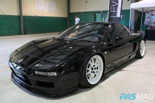 PASMAG JDM Simplicity LEVELone Acura NSX Fitted Honda Mugen front high