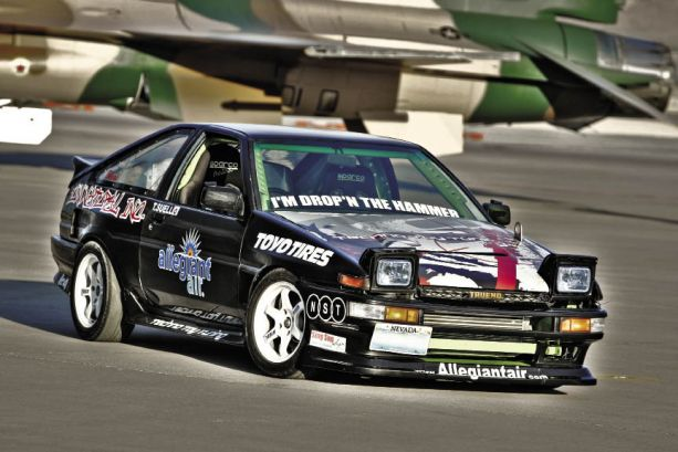 Slide-to-Side: Tommy Suell's 1986 SR20DET Toyota AE86 Corolla GT-S