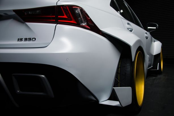 Rob Evan's DeviantART 2014 Lexus IS 350