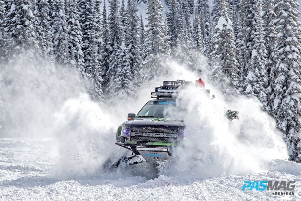 Slayin' Trax - Ken Block's Raptortrax Shreds Mountains
