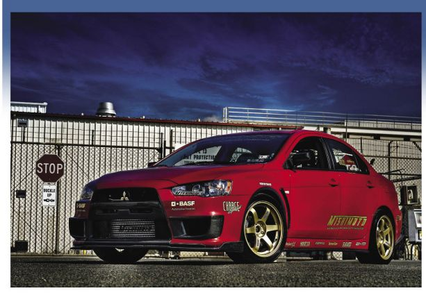 Mike Sullivan's 2008 Mitsubishi Lancer Evolution X