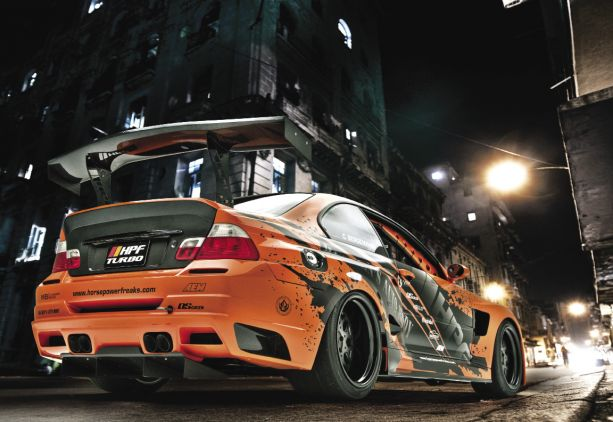 Kingpin: Chris Bergemann's HPF BMW M3