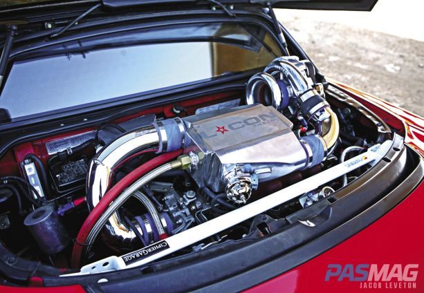 Pursuit-of-Perfection-Tony-Khamlys-1991-Acura-NSX Vortech GReddy JE Pistons Koyo LCON NGK
