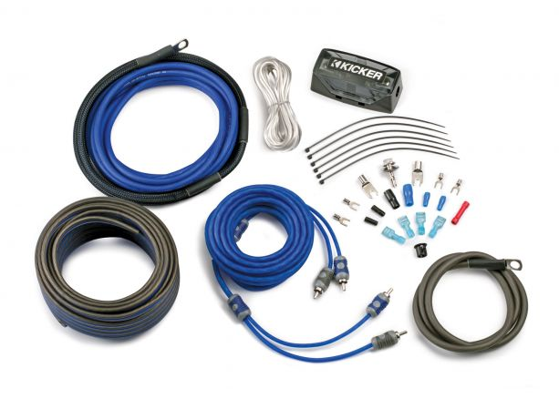 PASMAG Car Audio Buyers Guide KICKER CK8 Full-Spec Complete Power Kit Wiring