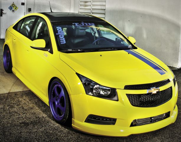 Wolverine: Tjin Edition's 2011 Chevrolet Cruze