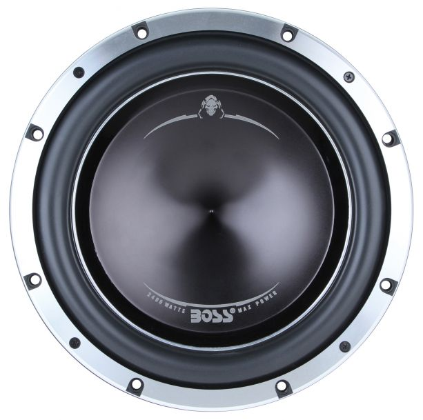 PASMAG Car Audio Buyers Guide BOSS Audio P128DC Subwoofer front