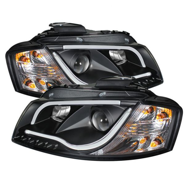 Spyder AudiA3 headlights