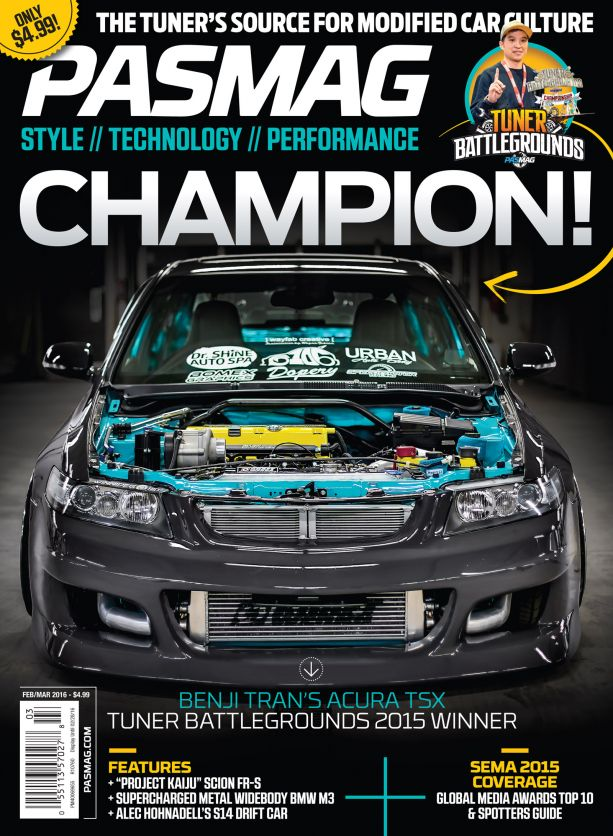 PASMAG 135 February March 2016 Cover USA