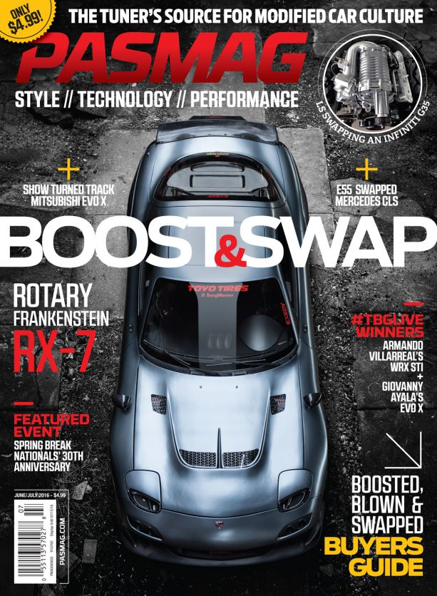 PASMAG #137 June-July 2016 Cover USA