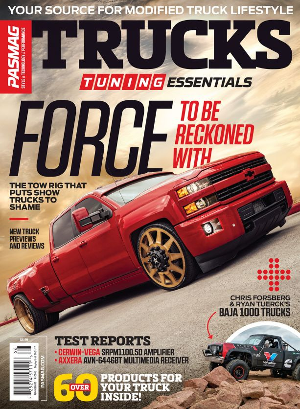 PAS 2016 Tuning Essentials Trucks 5th Edition USA